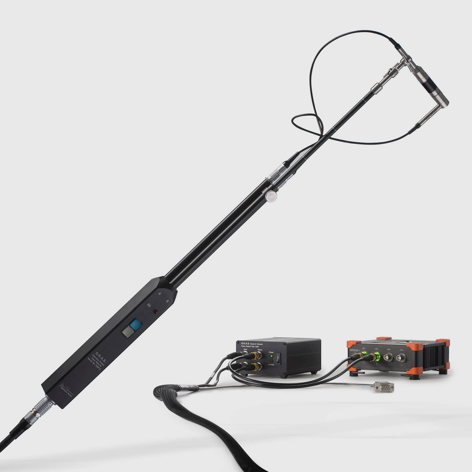 Portable & Adaptable Sound Intensity System