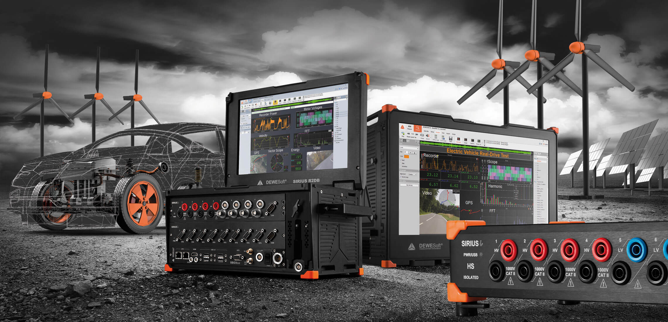 Power Analysis and Power Quality Solutions from Dewesoft