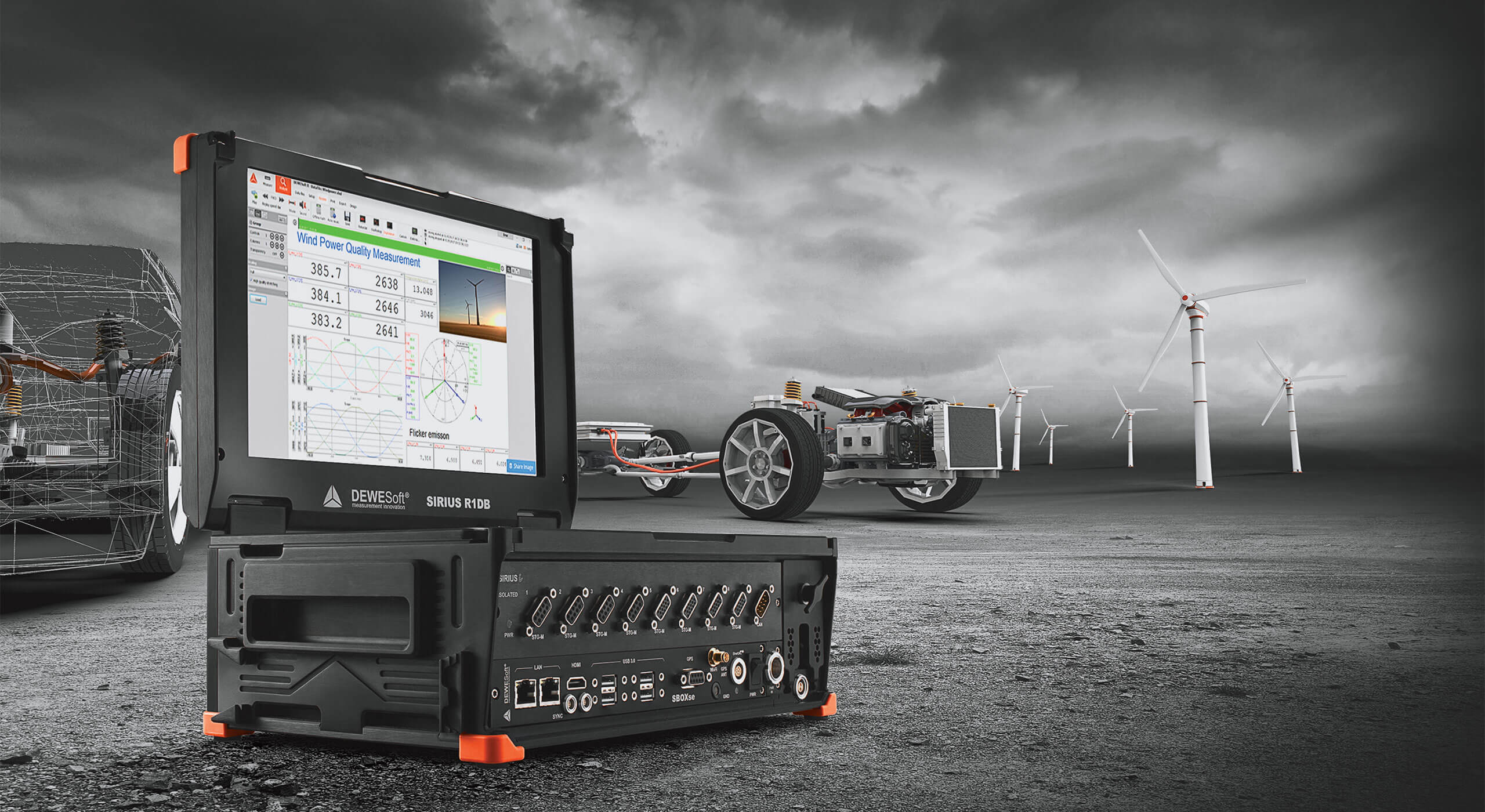 High-precision Power Quality Analyzer and Meter | Dewesoft
