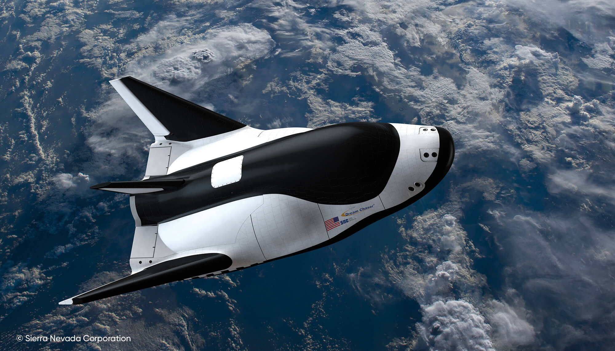 Dream Chaser space plane from Sierra Nevada Corporation