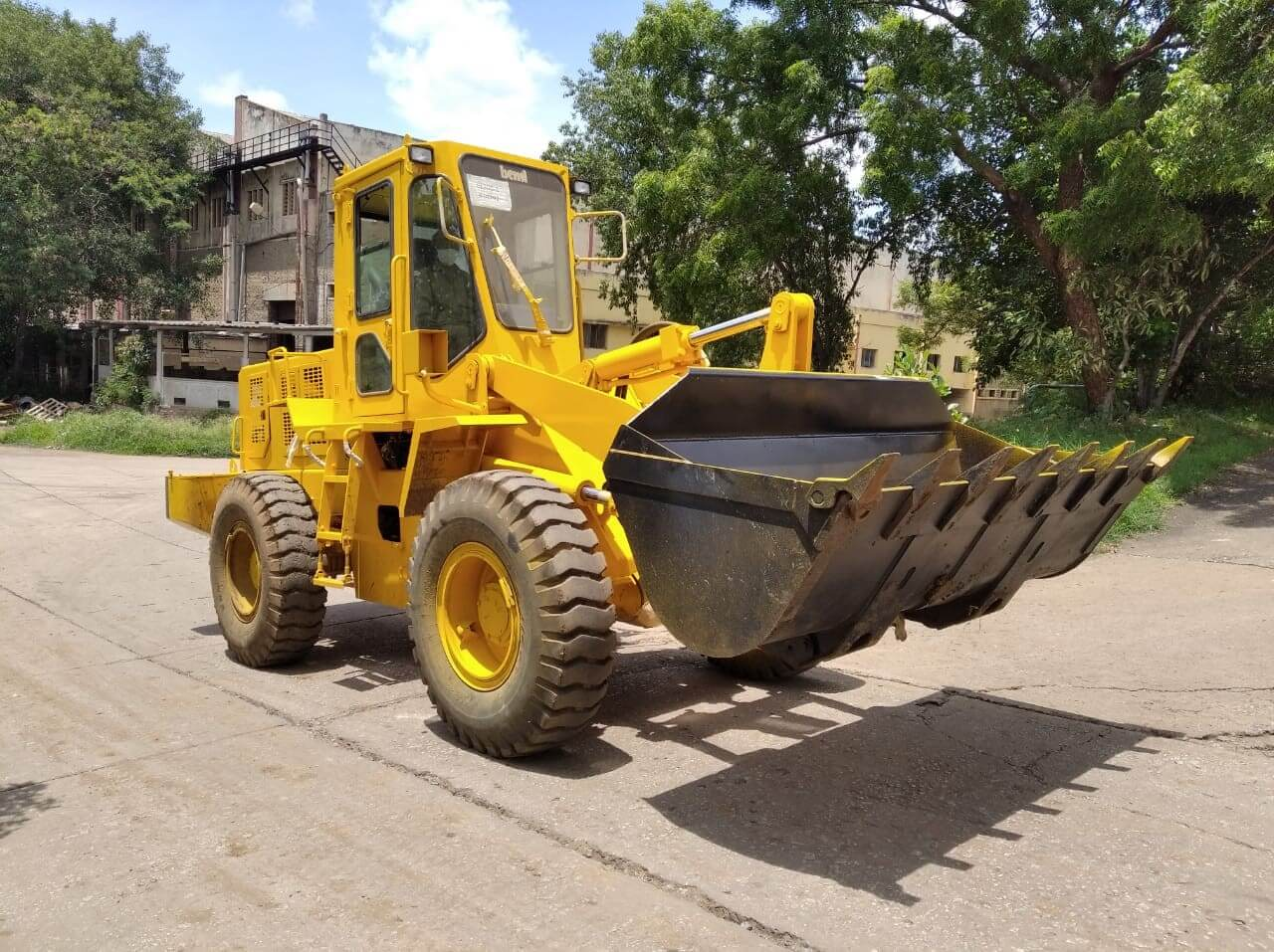 BEML Earth Mover and Loader