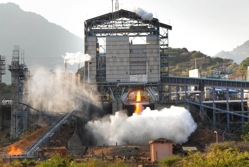 Propulsion system testing at the Indian Space Research Organization ISRO