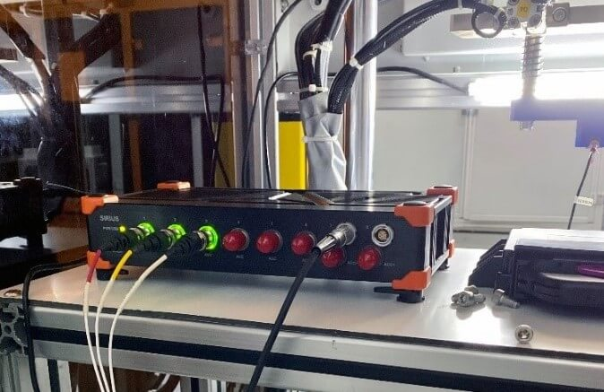 Dewesoft Dewesoft SIRIUS 6xACC, 2xACC+ data acquisition system and IEPE signal conditioner