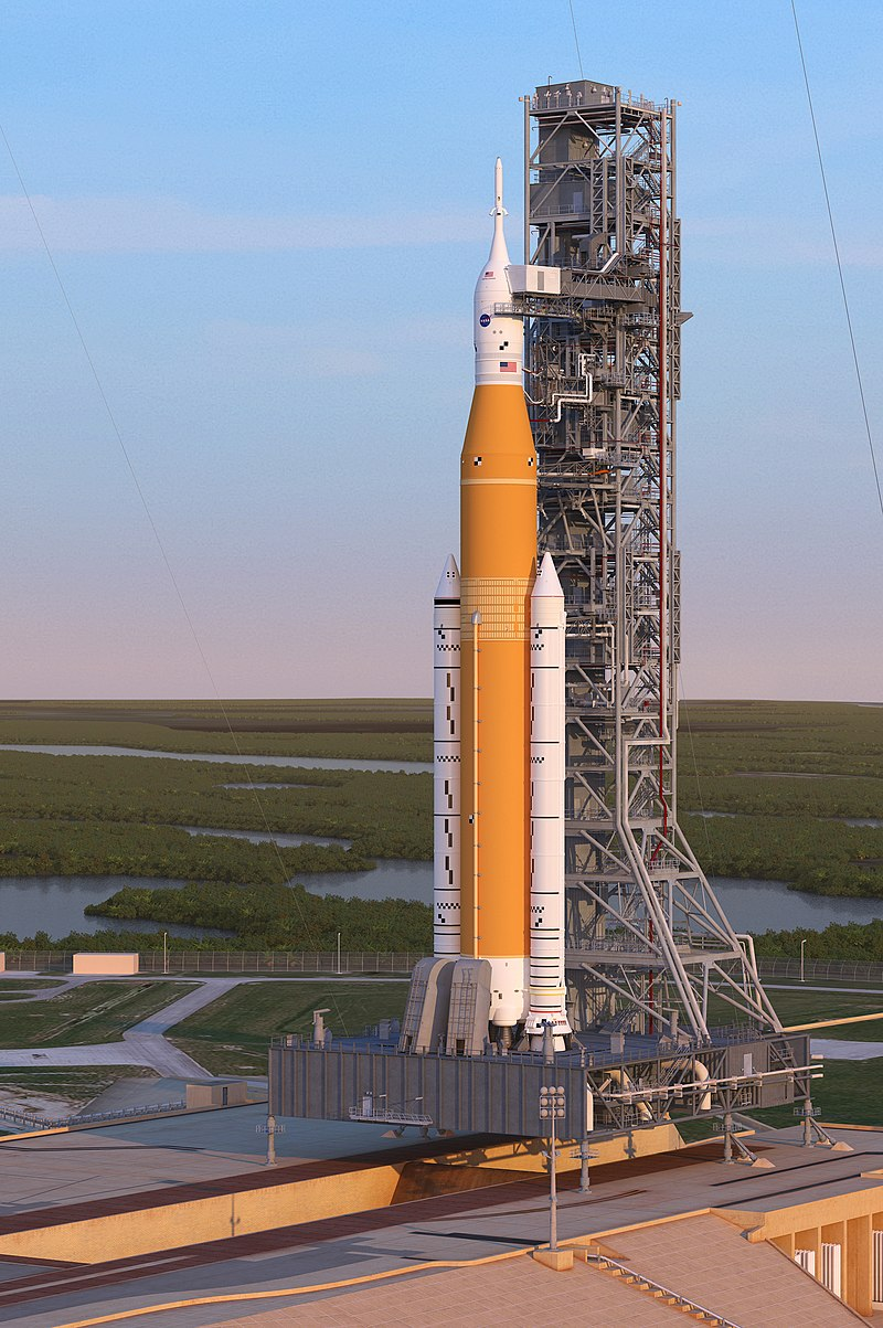 NASA'sSpace Launch System Rocket