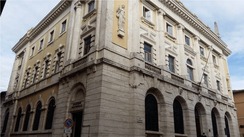 The Rieti post office