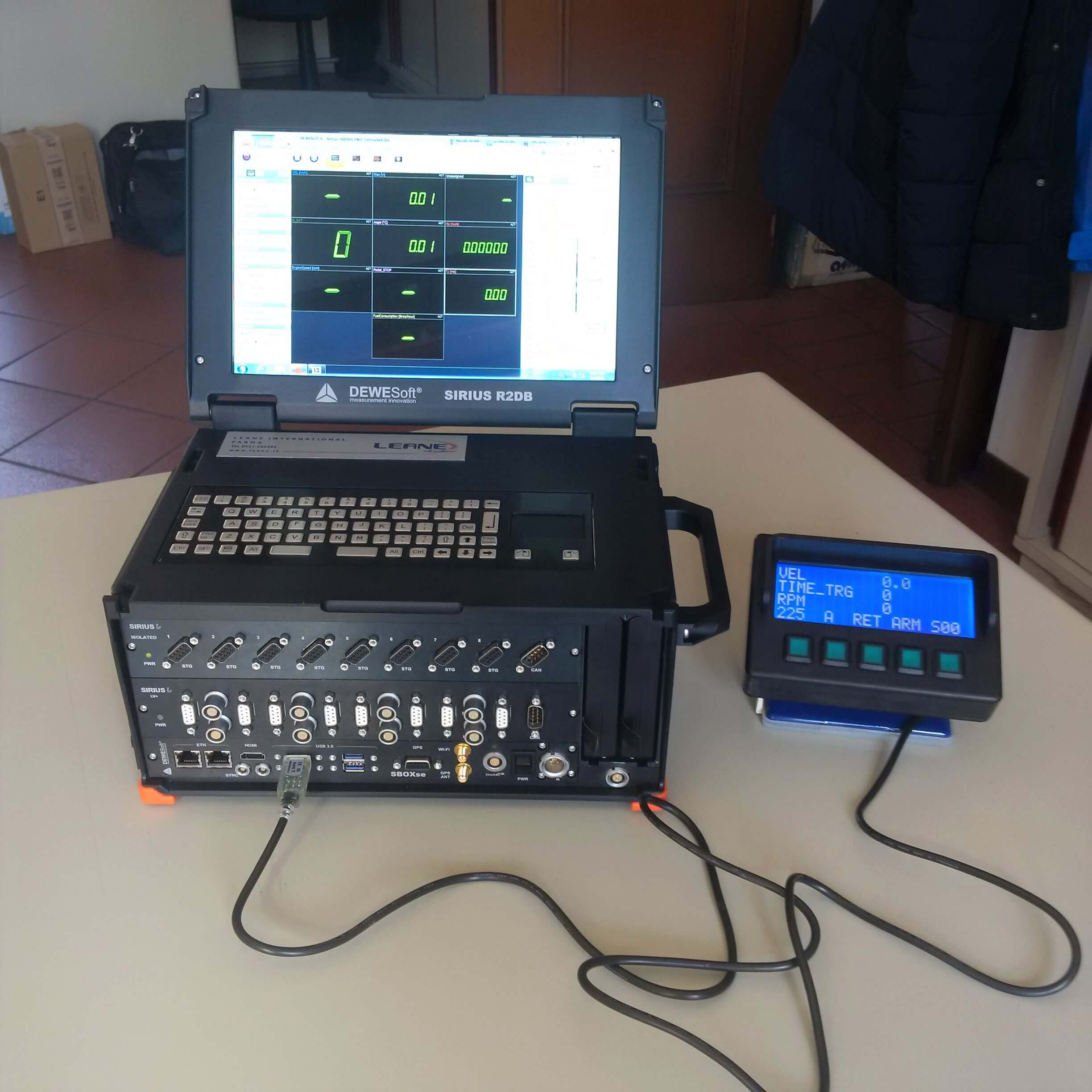 R2DB data acquisition system