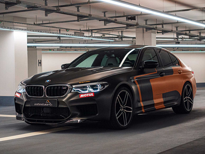 Combustion Analysis and Car Performance Tuning of BMW M5 Hurricane