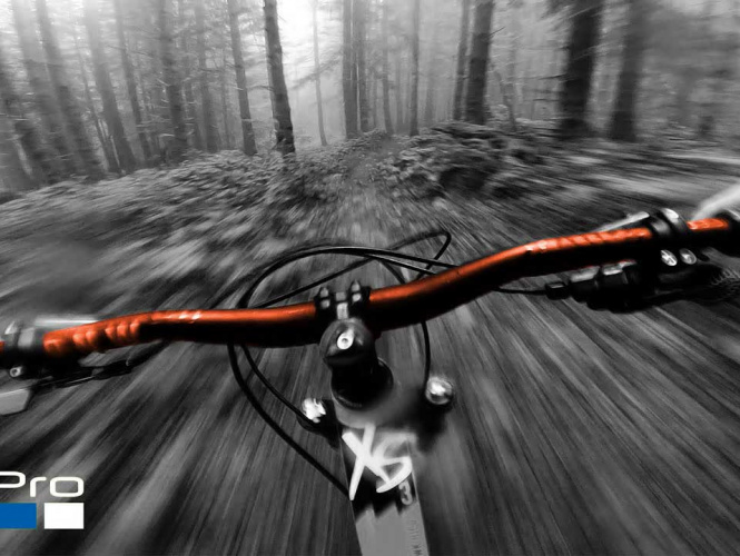 GoPro Camera and GNSS Data Acquisition Synchronized on a Mountain Bike