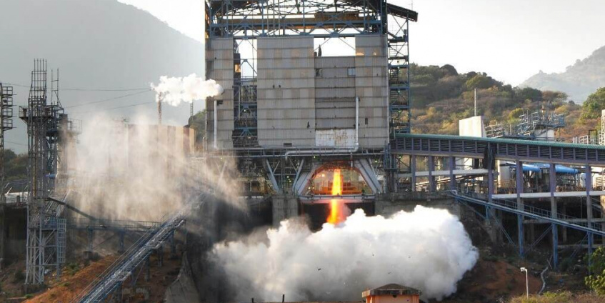 Large Scale Aerospace Structural Testing for Indian Space Research Organization