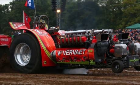 Performance tuning in tractor pulling sport