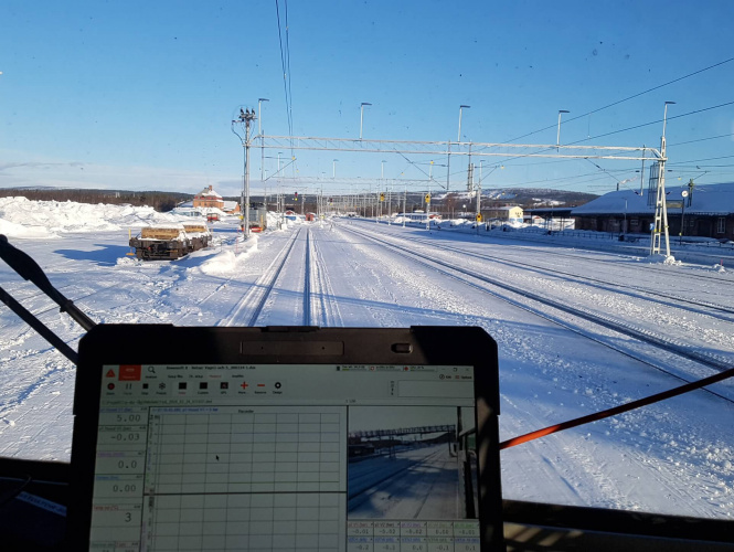 Train Brake Performance Testing in Winter Conditions