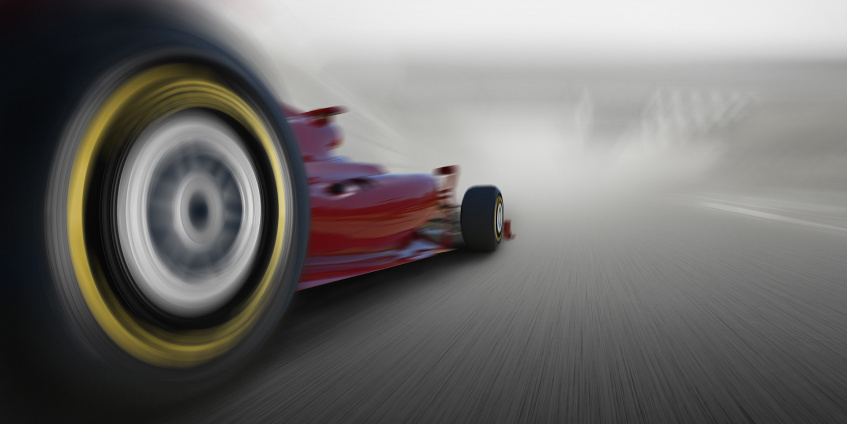 Formula 1 Relies on Tailor-made High-speed DAQ from Dewesoft