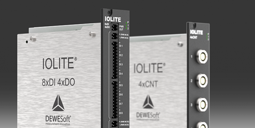 New IOLITE DAQ Modules For Digital Counters and DIO