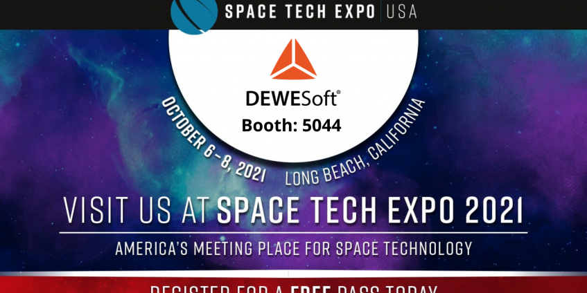 Visit us at Space Tech Expo 2021 in Long Beach, California