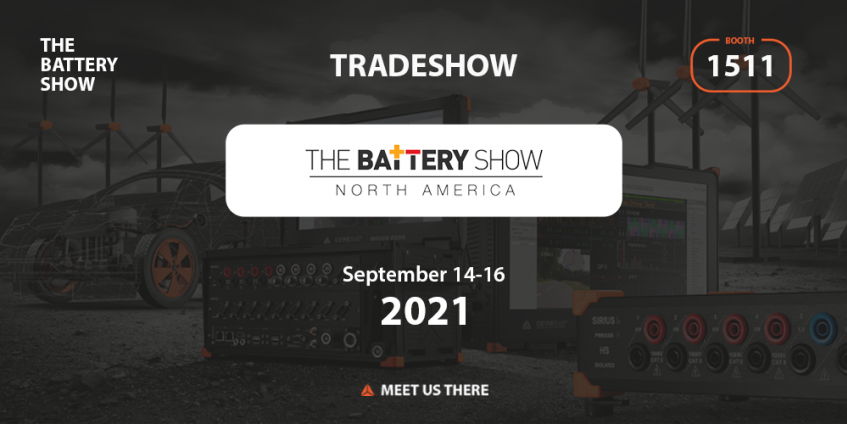 Meet Dewesoft team at the #1 Advanced Battery and Electric Vehicle Event in North America