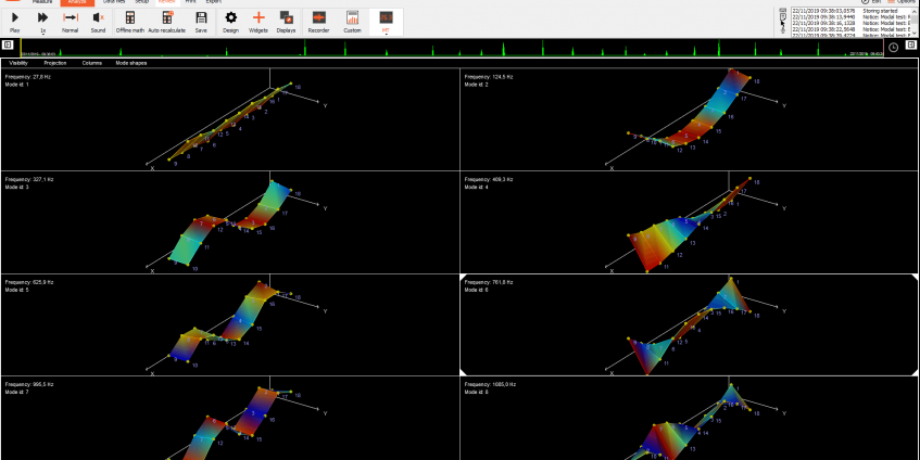DewesoftX 2021.3 Released - Modal Geometry Update, FFT Analyzer and Dewesoft NET Improvements, and more