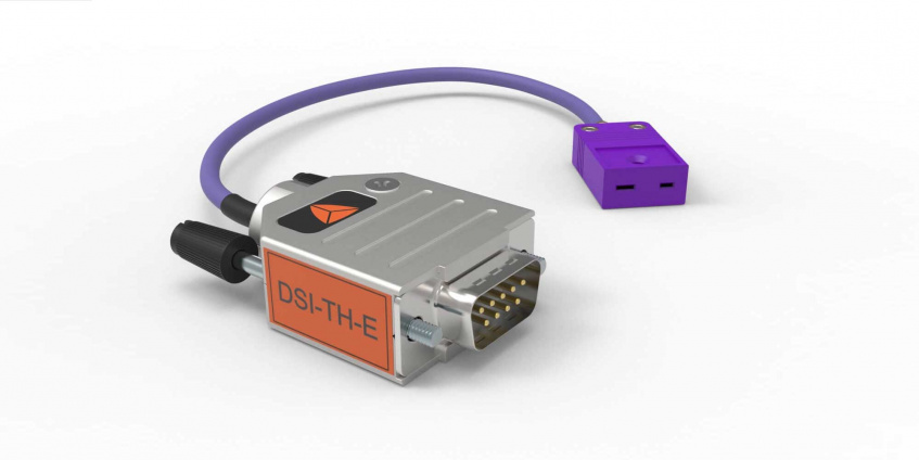 New DSI Adapters for Thermocouple Type E and Current Measurement