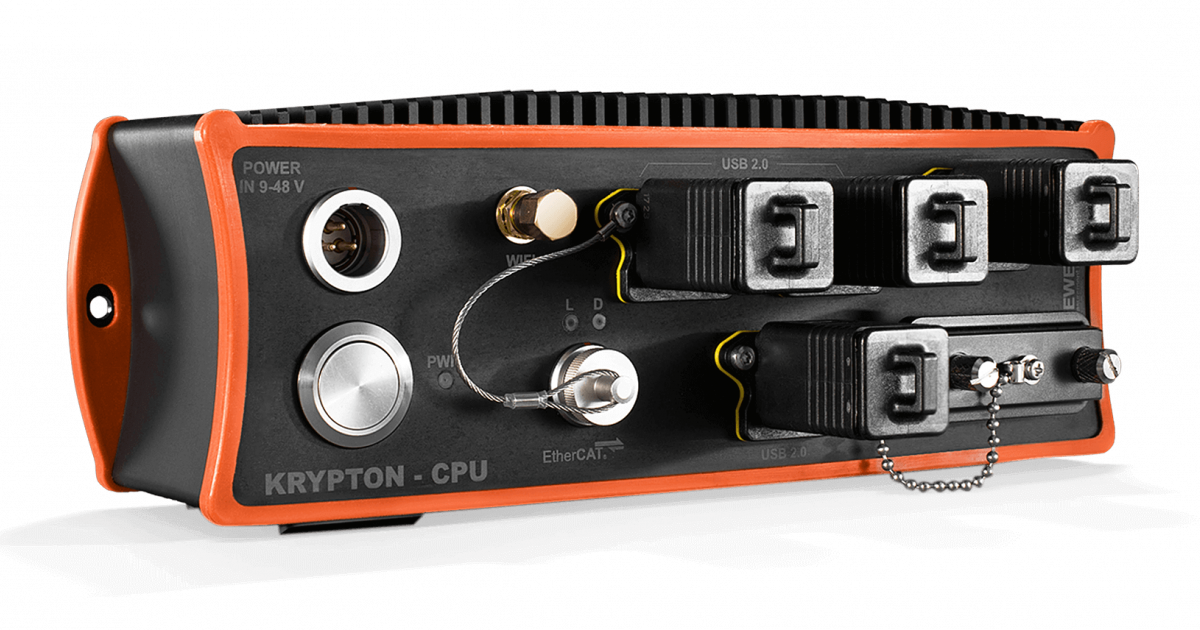 KRYPTON CPU portable and rugged processing computer and data logger