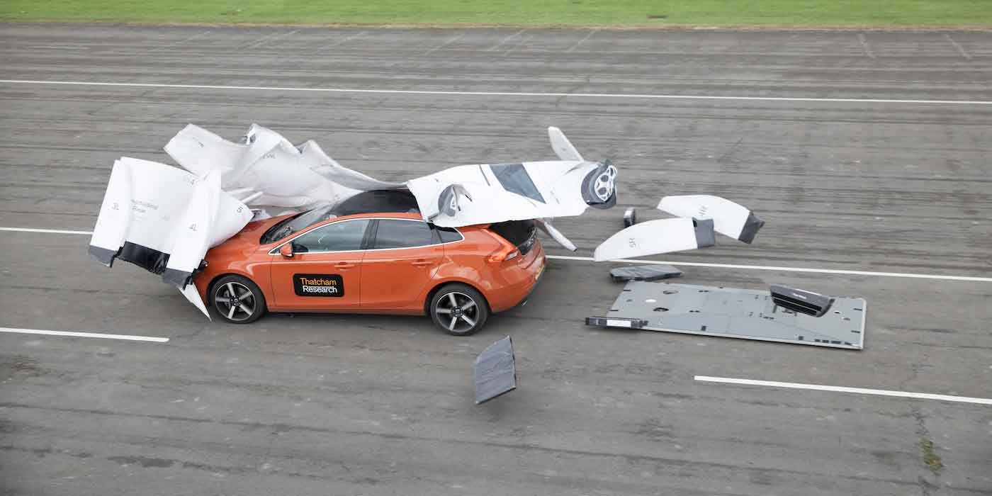 ADAS testing on the proving ground with soft targets
