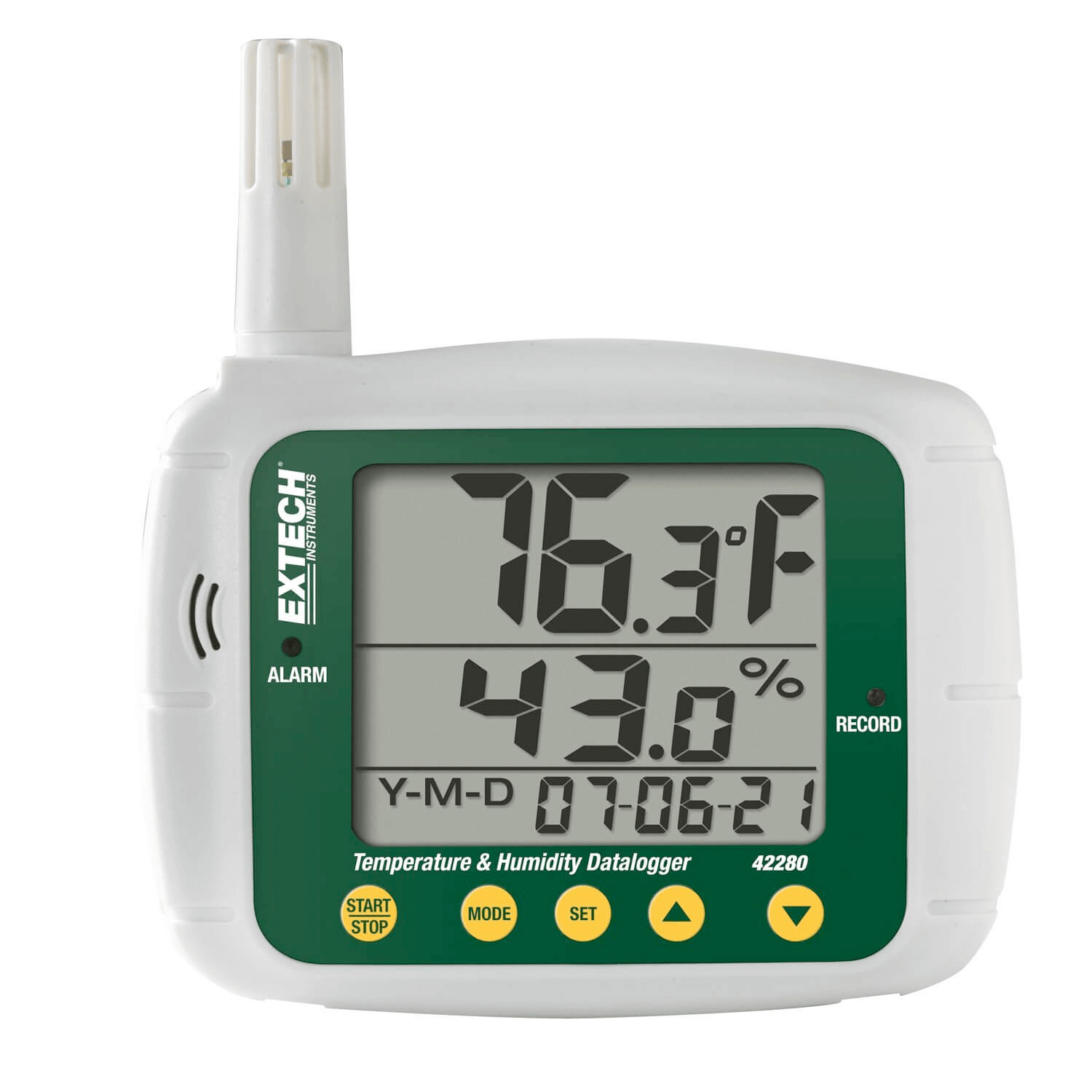 Data logger with numerical display