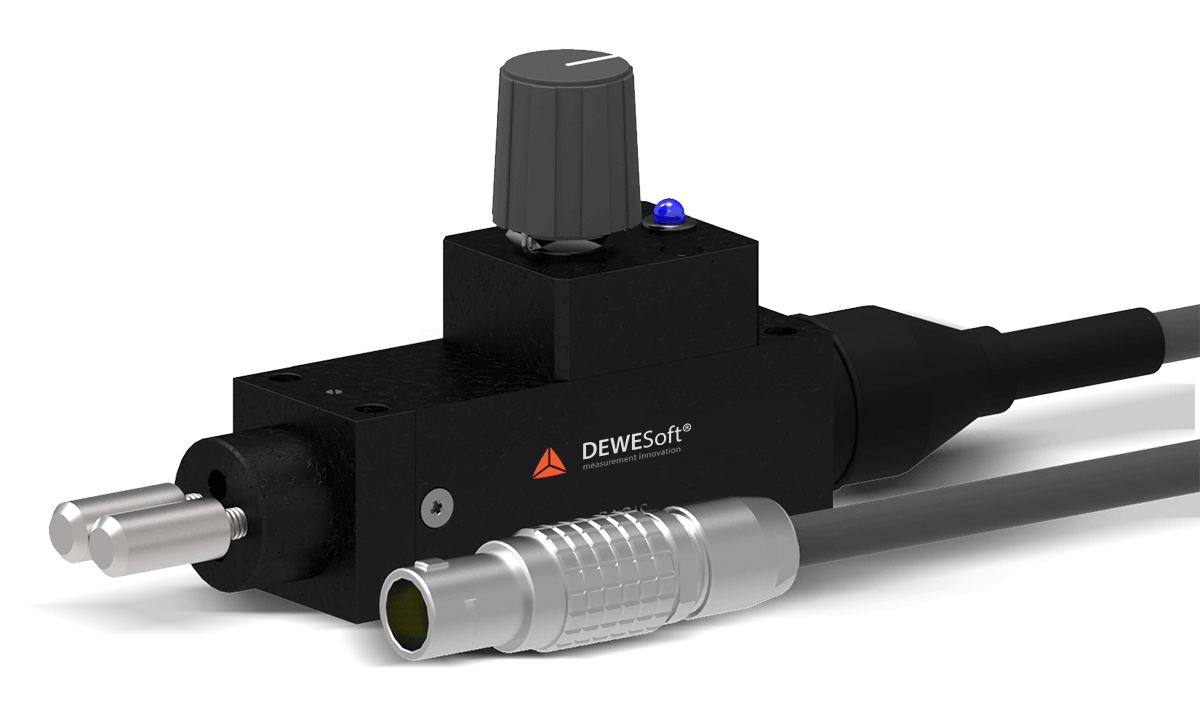 DS-TACHO-4 tape sensor from Dewesoft