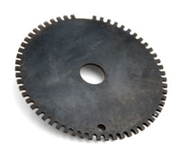 Typical Gear Tooth with Missing Teeth