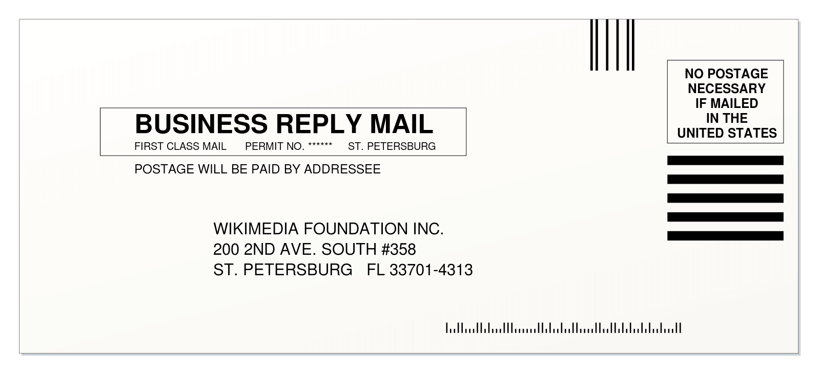 US Postal Service Business Reply Mail
