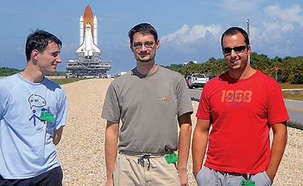 Dewesoft software engineers at NASA Kennedy Space Center