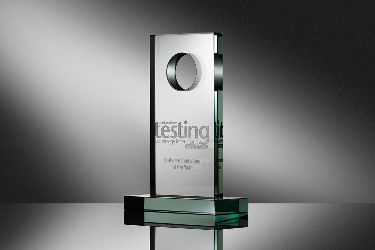 Dewesoft X software innovation of the year award