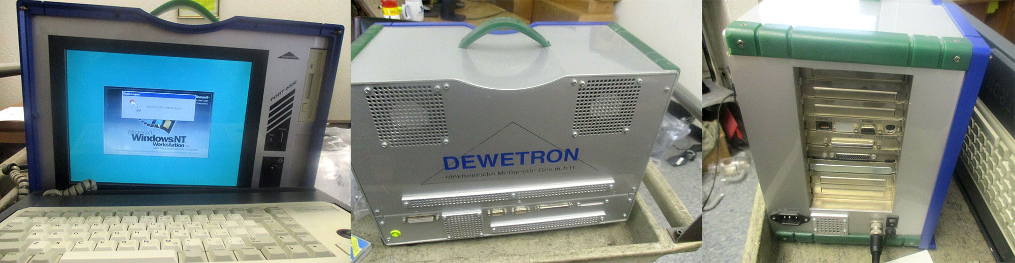 The Dewetron PORT-2000 modular data acquisition system