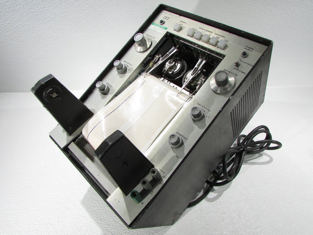 An early GOULD BRUSH 220 strip chart recorder
