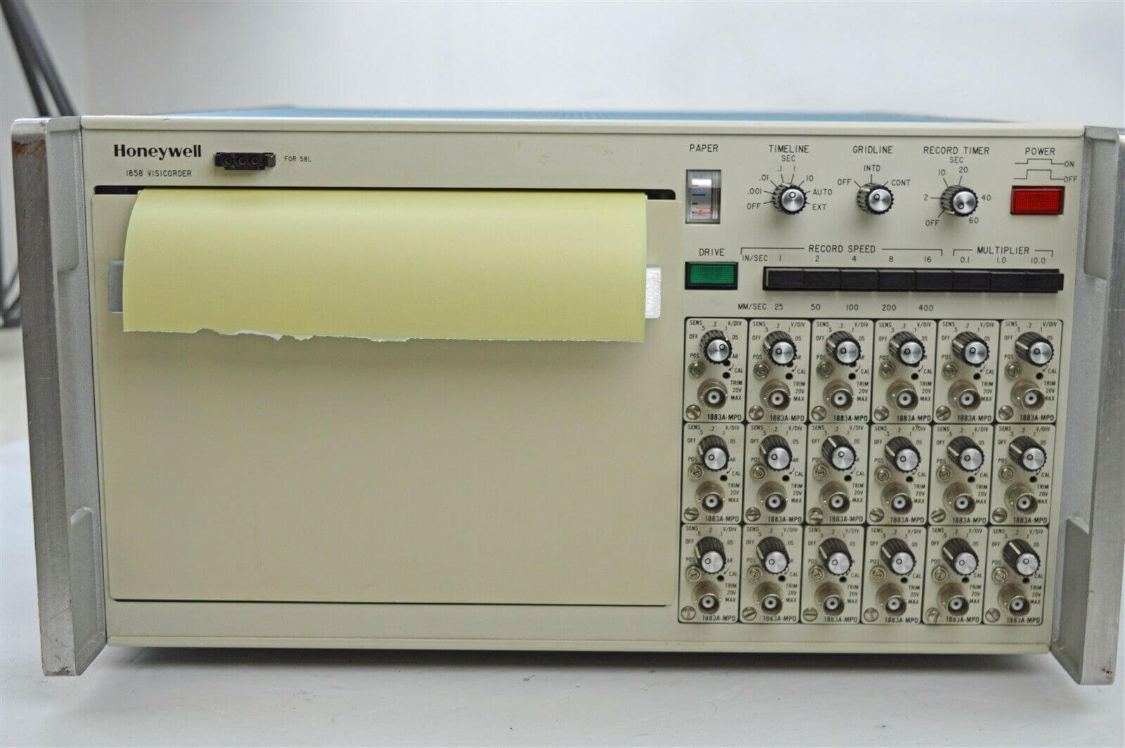 Honeywell 1858 Visicorder light beam oscillograph