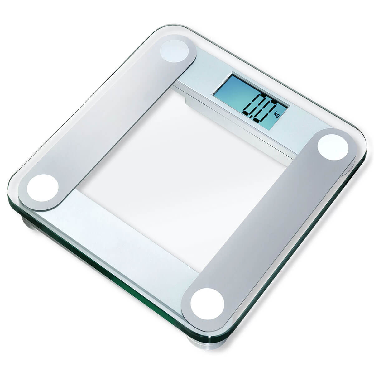 The digital bathroom scale is a strain gage-based load cell device
