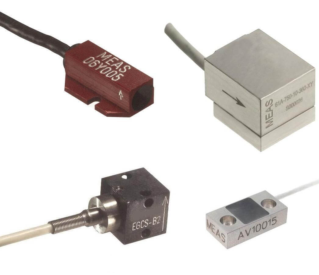 Typical Piezoresistive Accelerometers