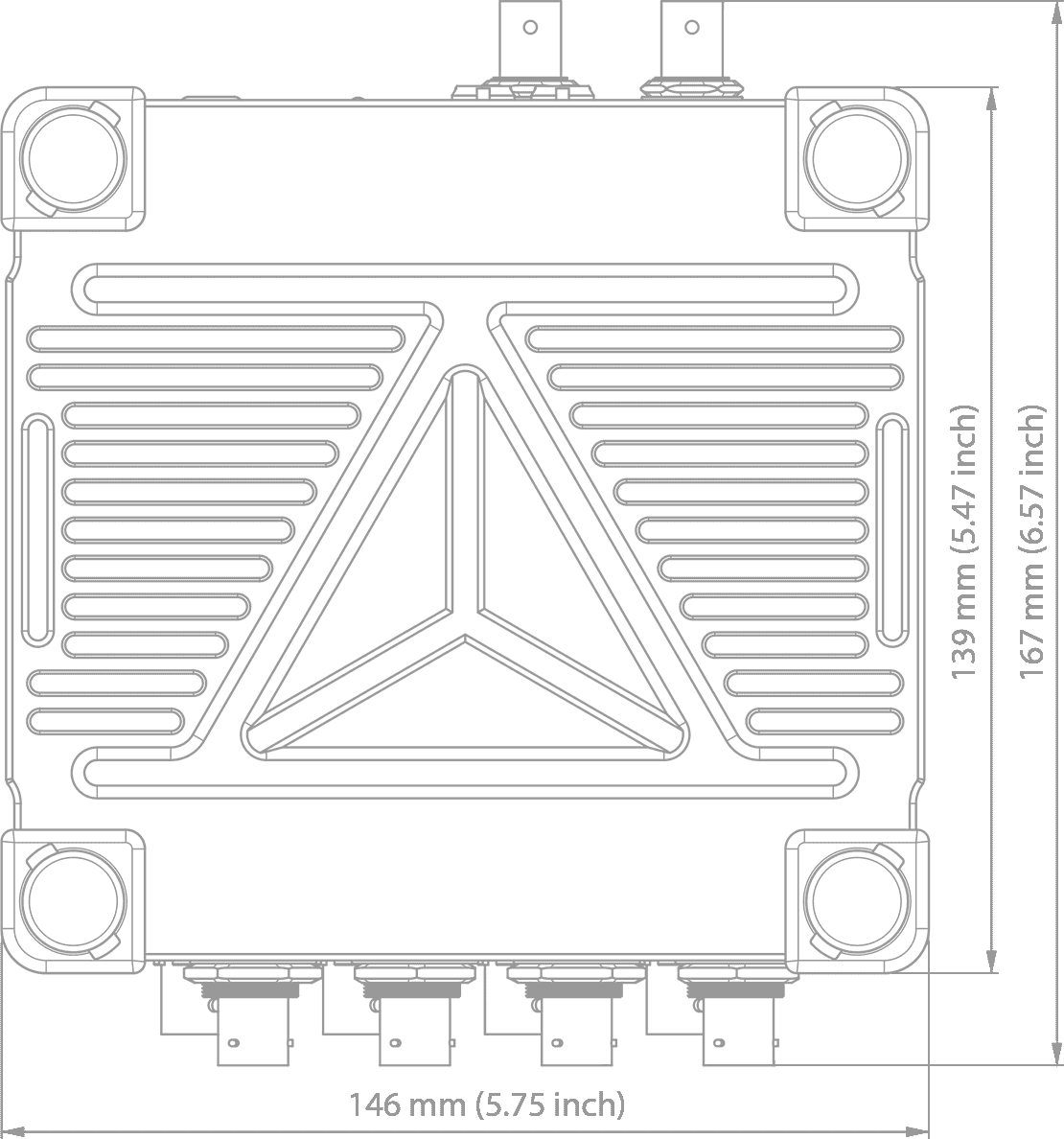 Interfaces aéronautique  technical drawing
