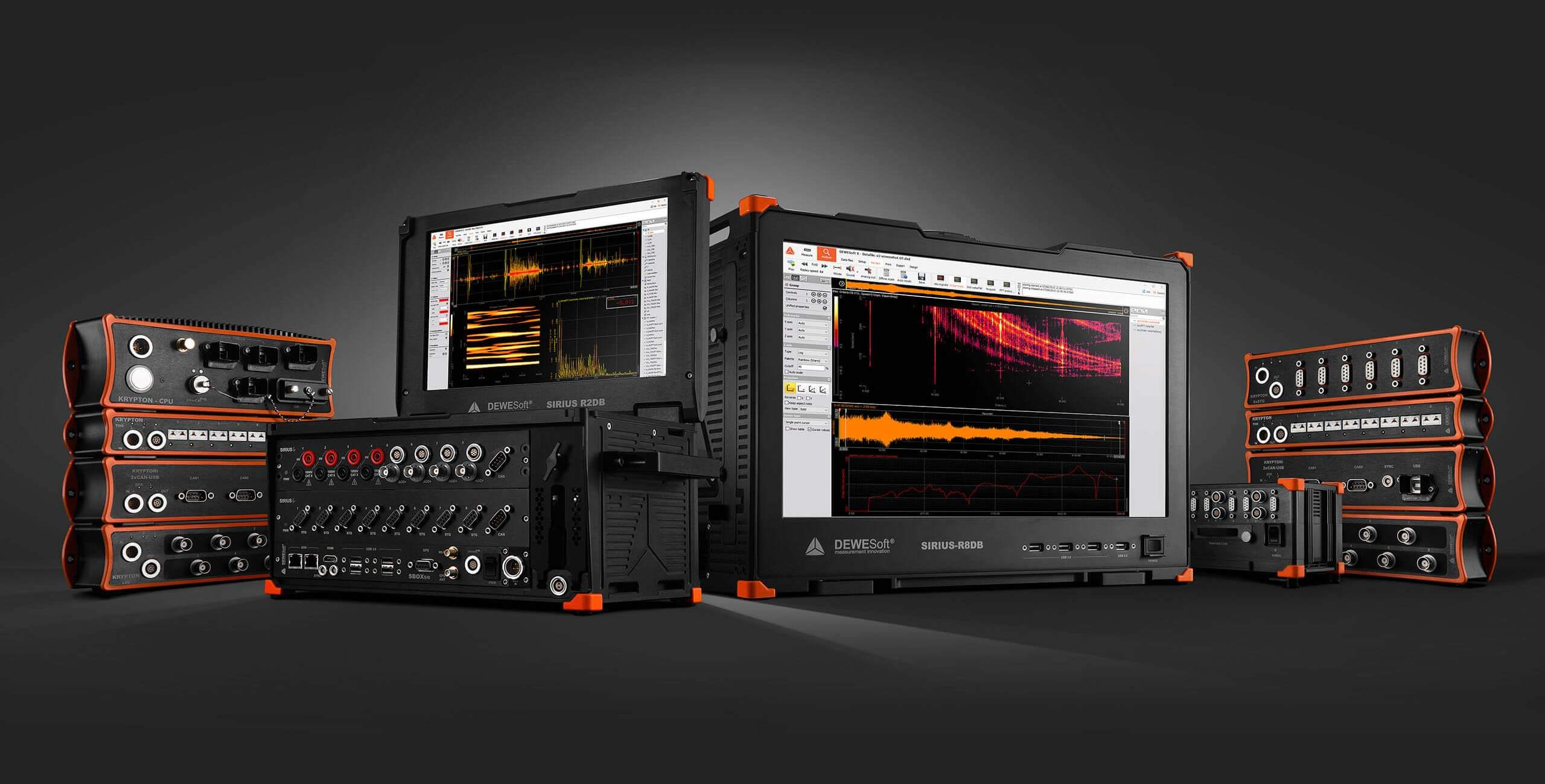 Dewesoft high-end data acquisition (DAQ) systems