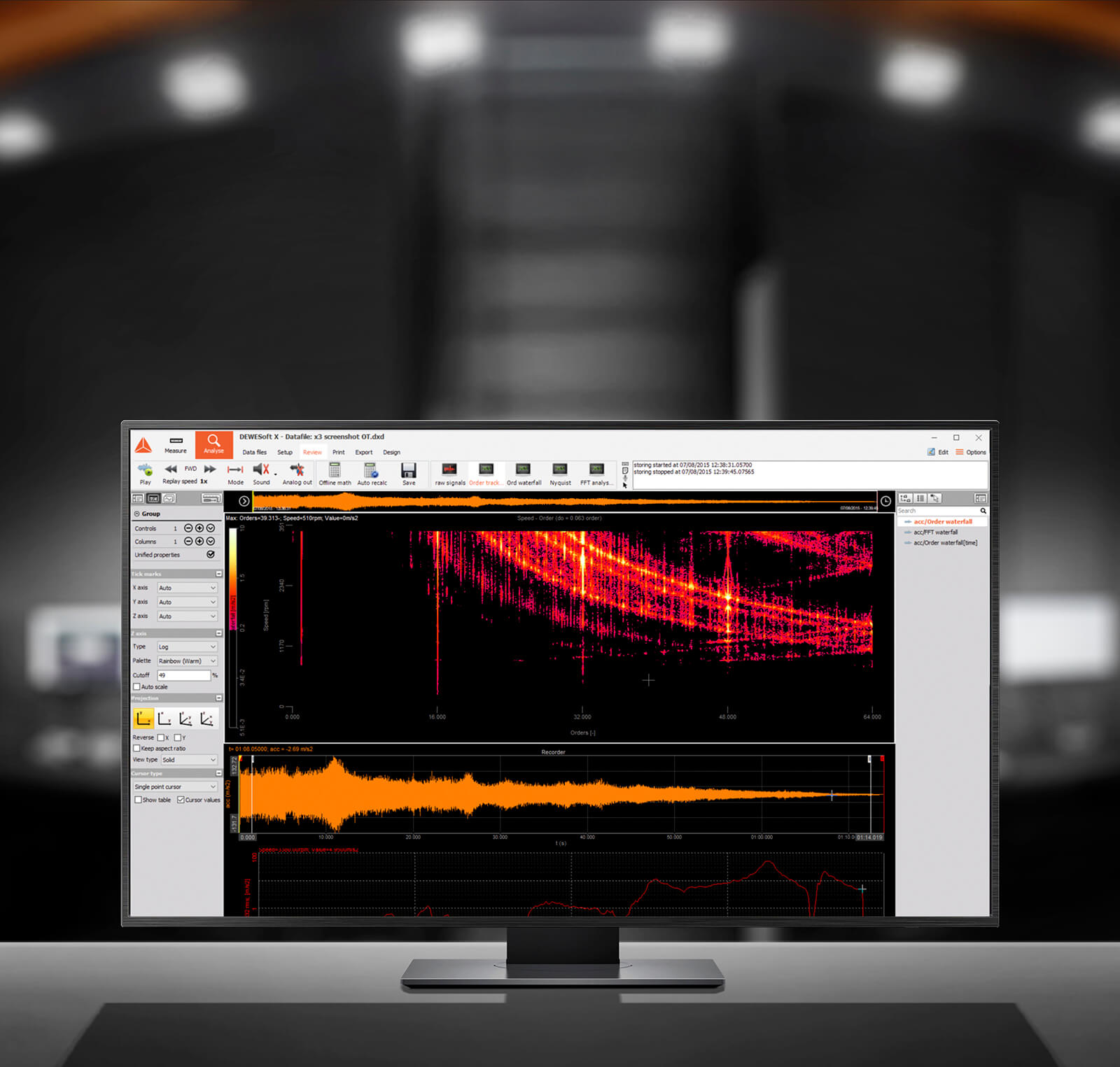 Recording and Signal Processing Software Included