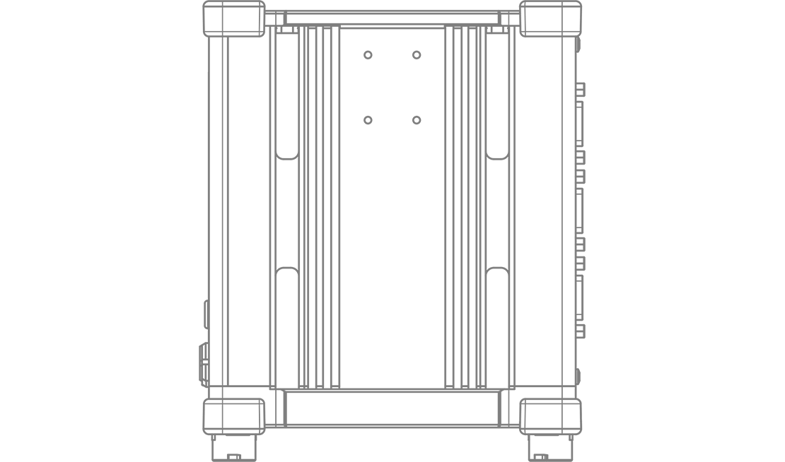 IOLITE technical drawing