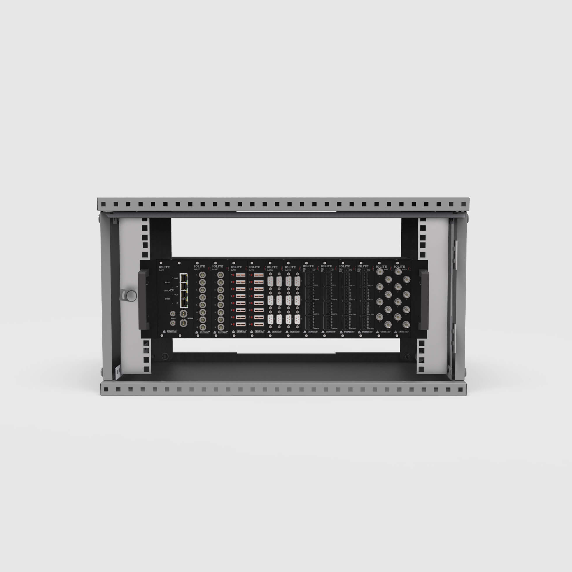 IOLITEr - 19-inch Rack Cabinet Mount Chassis
