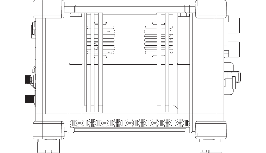 MINITAURs technical drawing