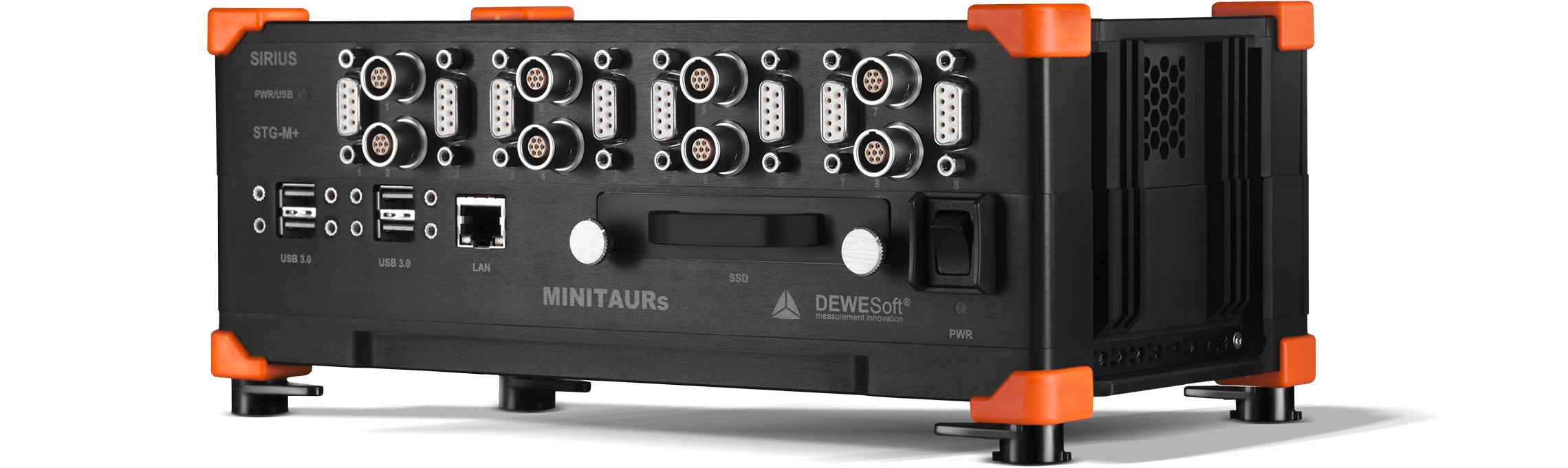 MINITAURs | 8 Channel Data Acquisition System | Dewesoft