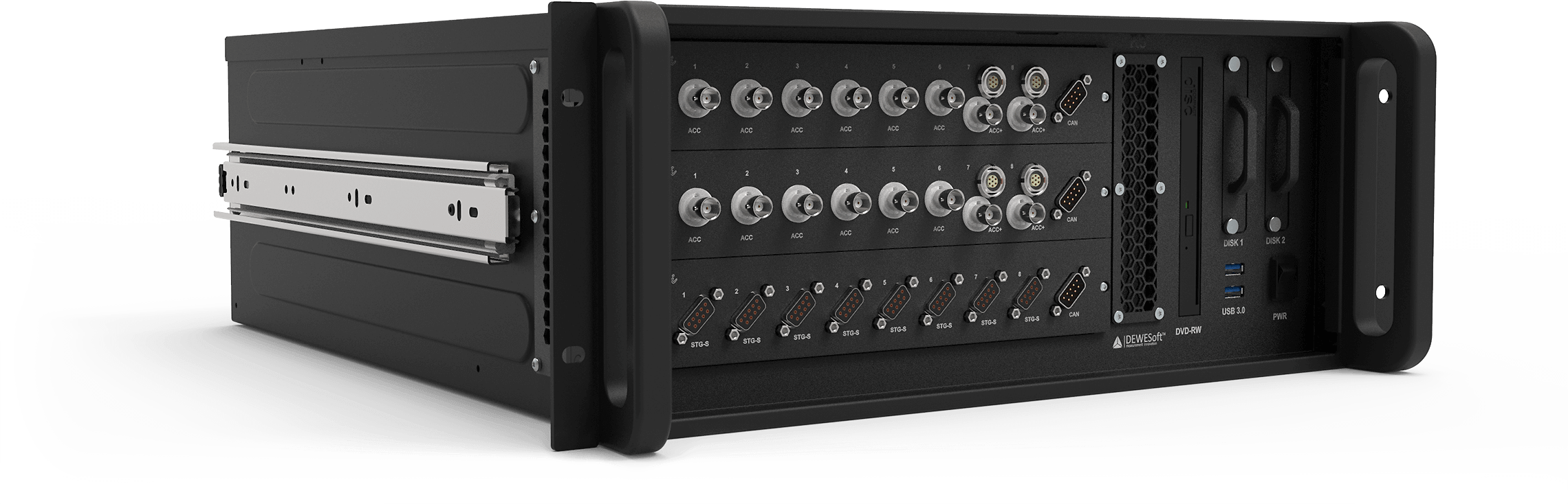 R3 | 19'' Rack Mountable DAQ System | Dewesoft