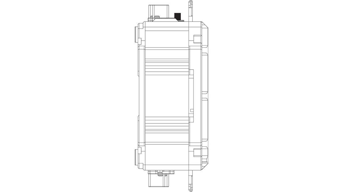 SBOX Waterproof technical drawing
