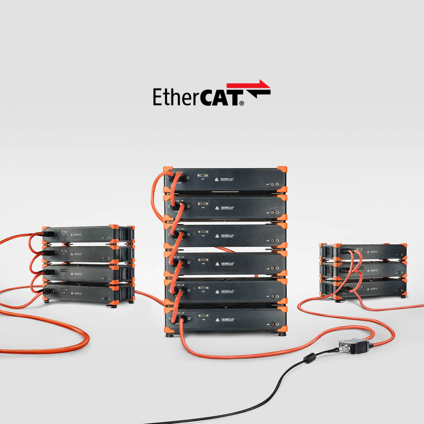 USB or Distributed DAQ via EtherCAT Interface